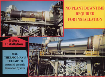 thermo max reduce asphalt plant fuel costs increase production. Black Bedroom Furniture Sets. Home Design Ideas